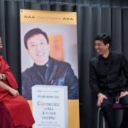 Conférence Shade Meng Ta et Matthieu Ricard chez Google-2266
